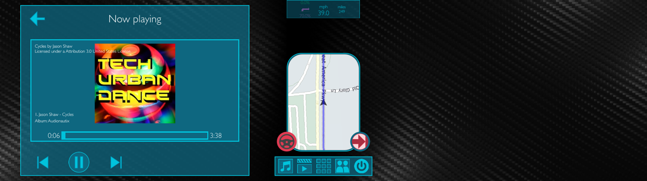 Creating the 'future driving experience' demo - Embedded