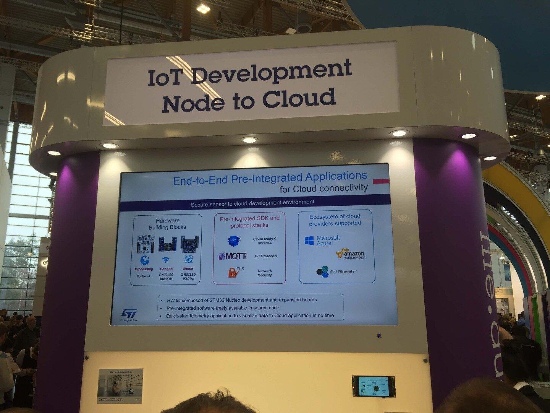 Embedded World 2016 – IoT Demos - Day 1 - Embedded blog - System