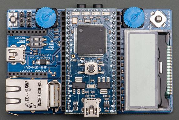 Board Breakdown: NXP LPC1768 with Application Board ***Board