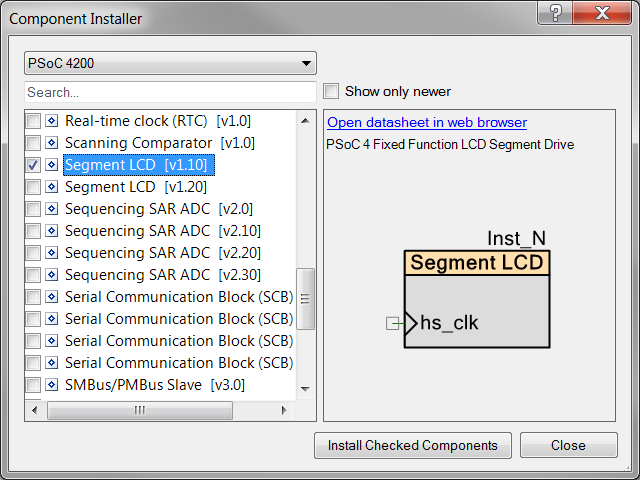 PSoC Creator 4 1 - Web Content Delivery - Embedded blog