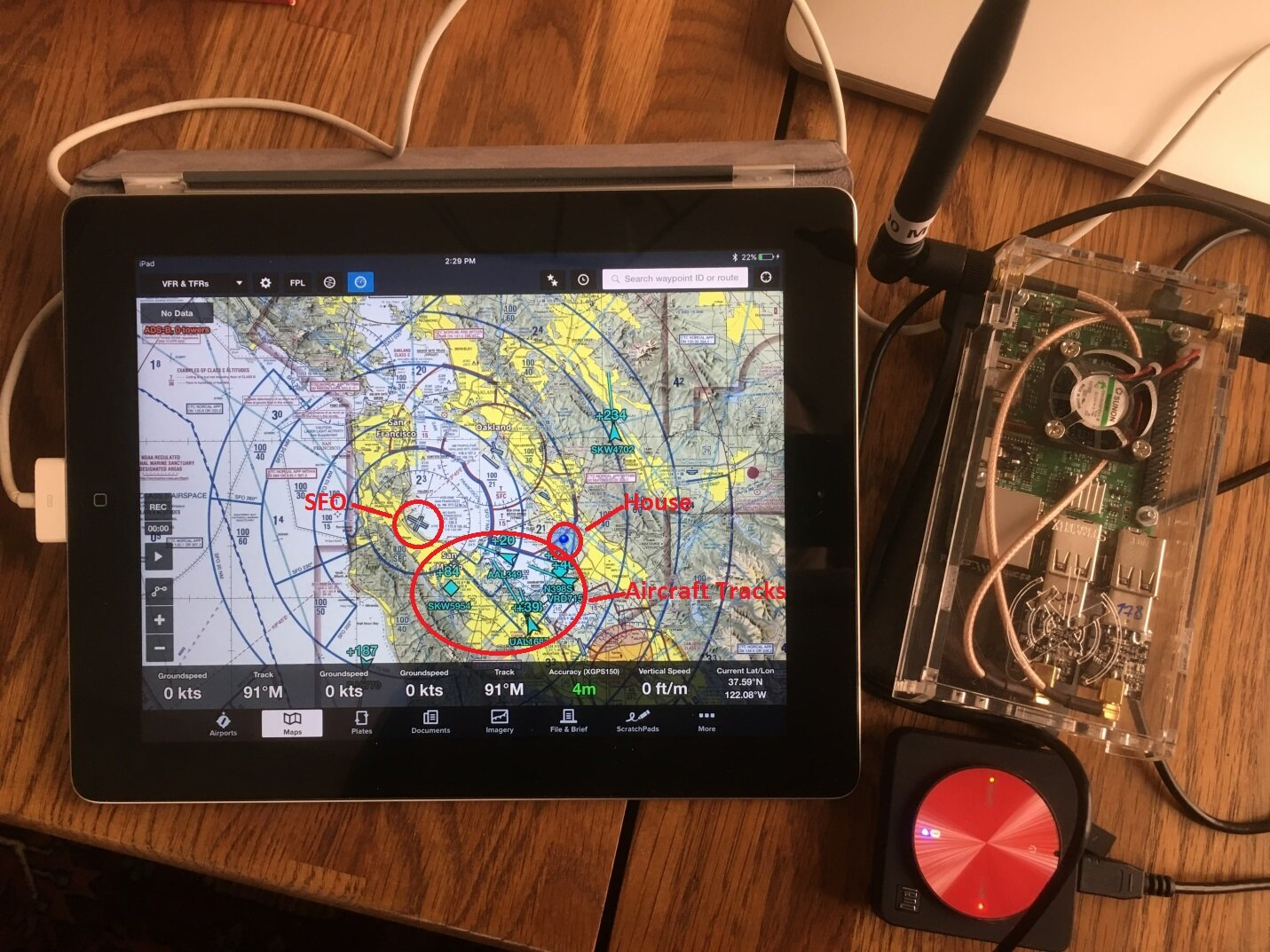 Test Flight of a Raspberry Pi-based Aircraft Tracker - IoT