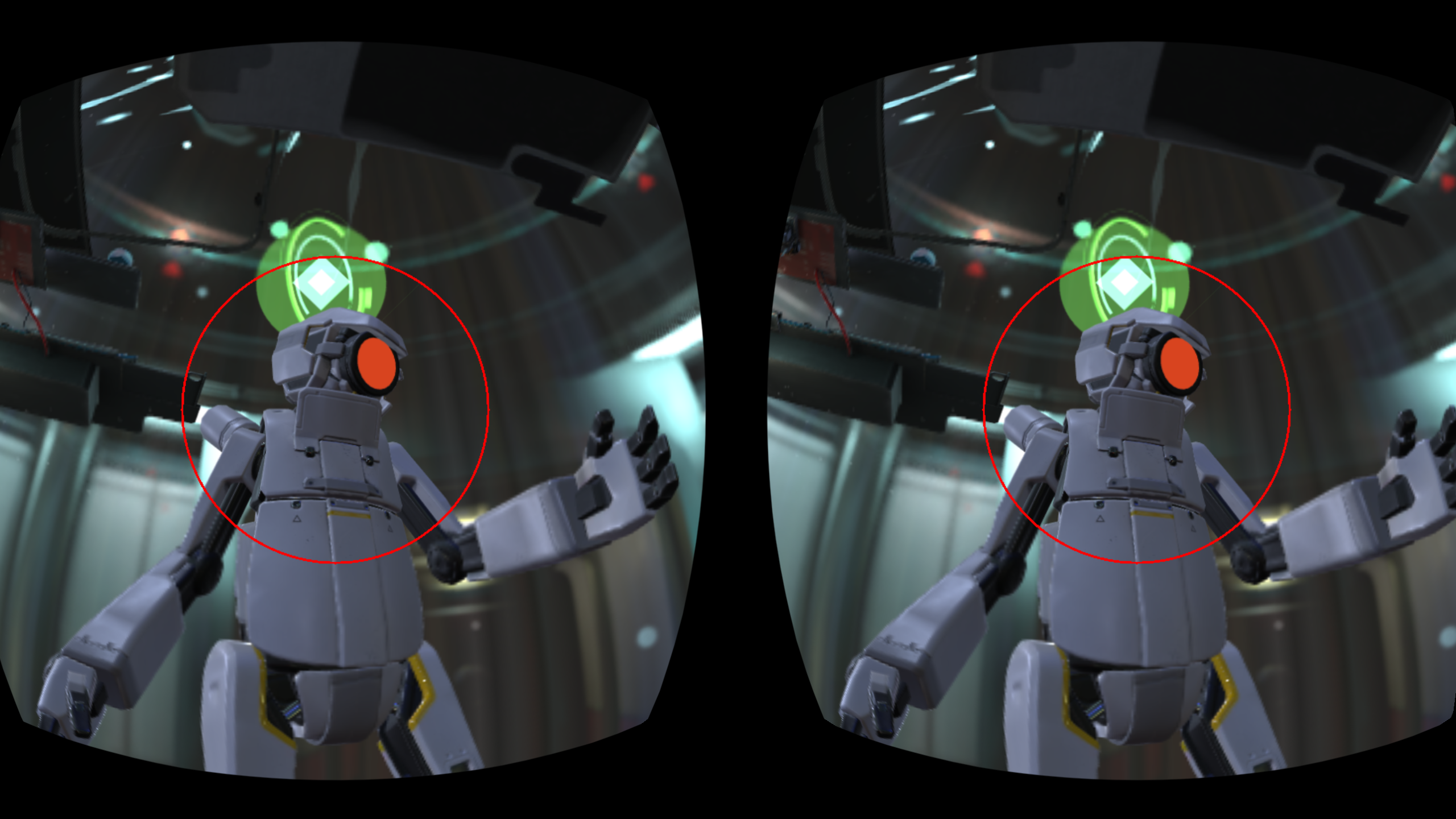 CircuitVR: Mobile Foveated Rendering with Multiview and Eye
