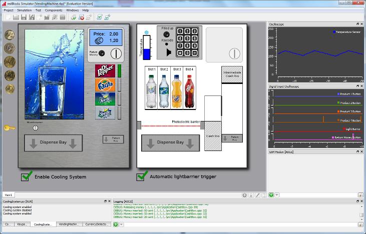 Keil uVision IDE and the redBlocks Simulator – A Perfect