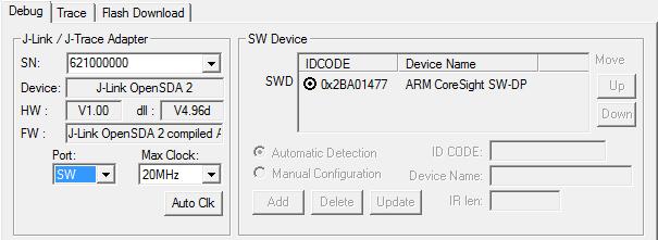 flash download failed cortex m4