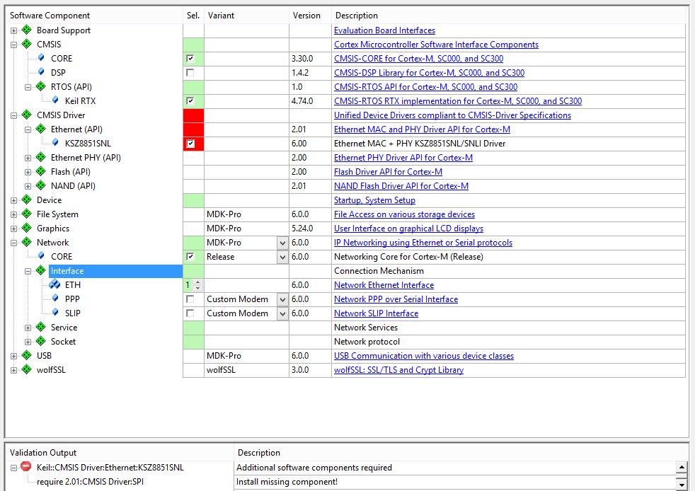CMSIS, SPI driver is missing! - Keil forum - Software Tools - Arm