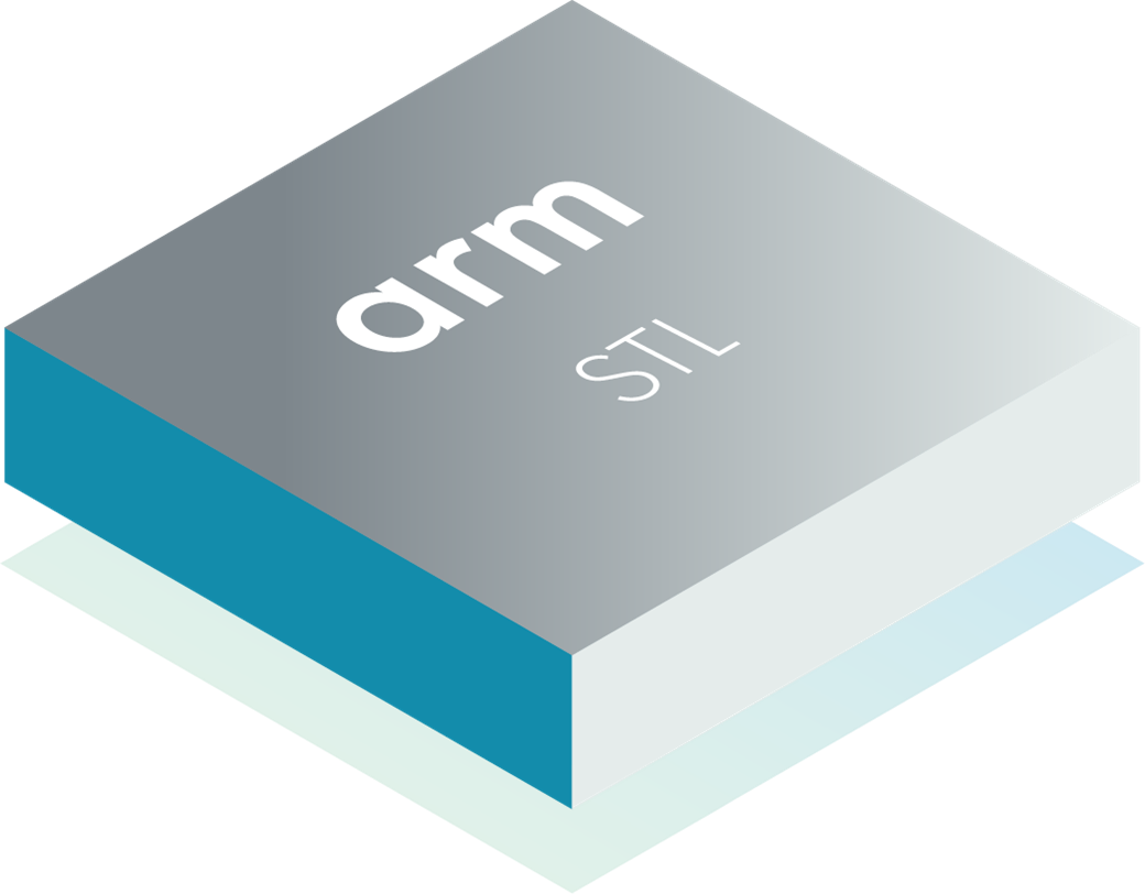 Arm Software Test Libraries chip