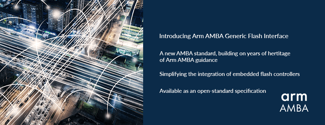 Information about Arm AMBA GFB   - introducing Arm AMBA GFB - New eFlash interface standard for IoT – IoT blog – Internet of Things