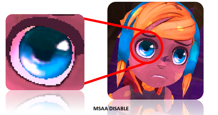 MSAA Disabled in Lila's Tale