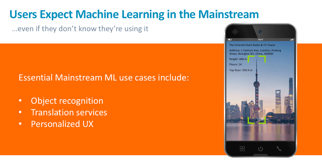 Arm Machine Learning use cases
