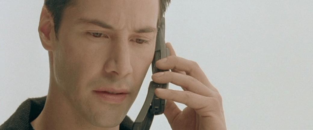 Neo using the Nokia 8110