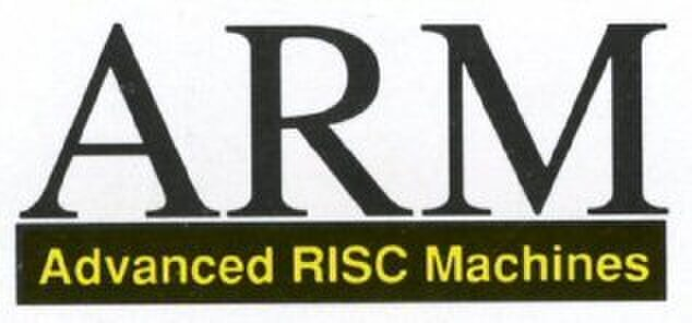The Arm logo used until IPO in 1999