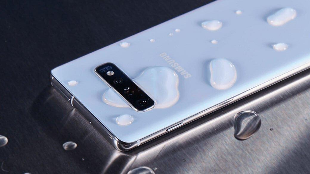 Samsung Galaxy S10 smartphone