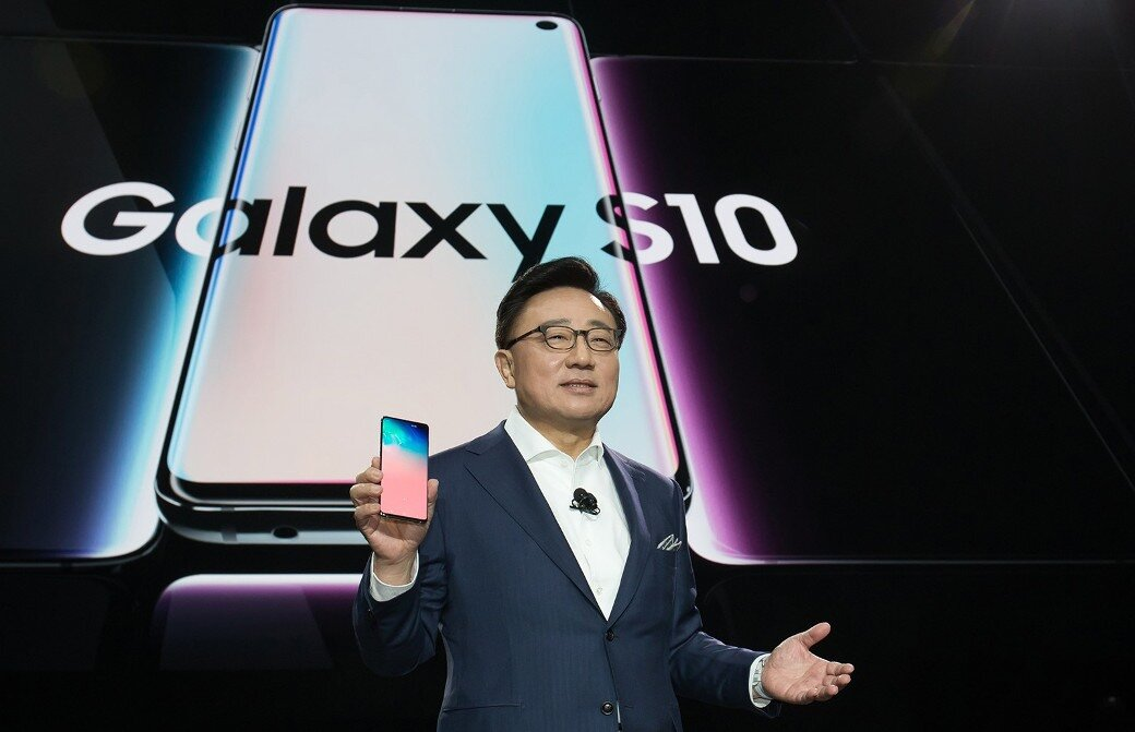 Launch of Samsung Galaxy S10 series