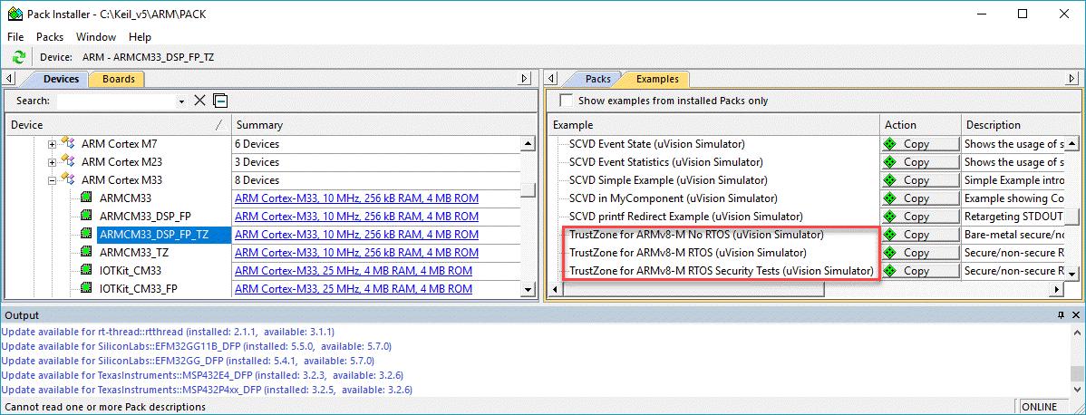 Keil MDK for Cortex-M33 project - Keil forum - Software