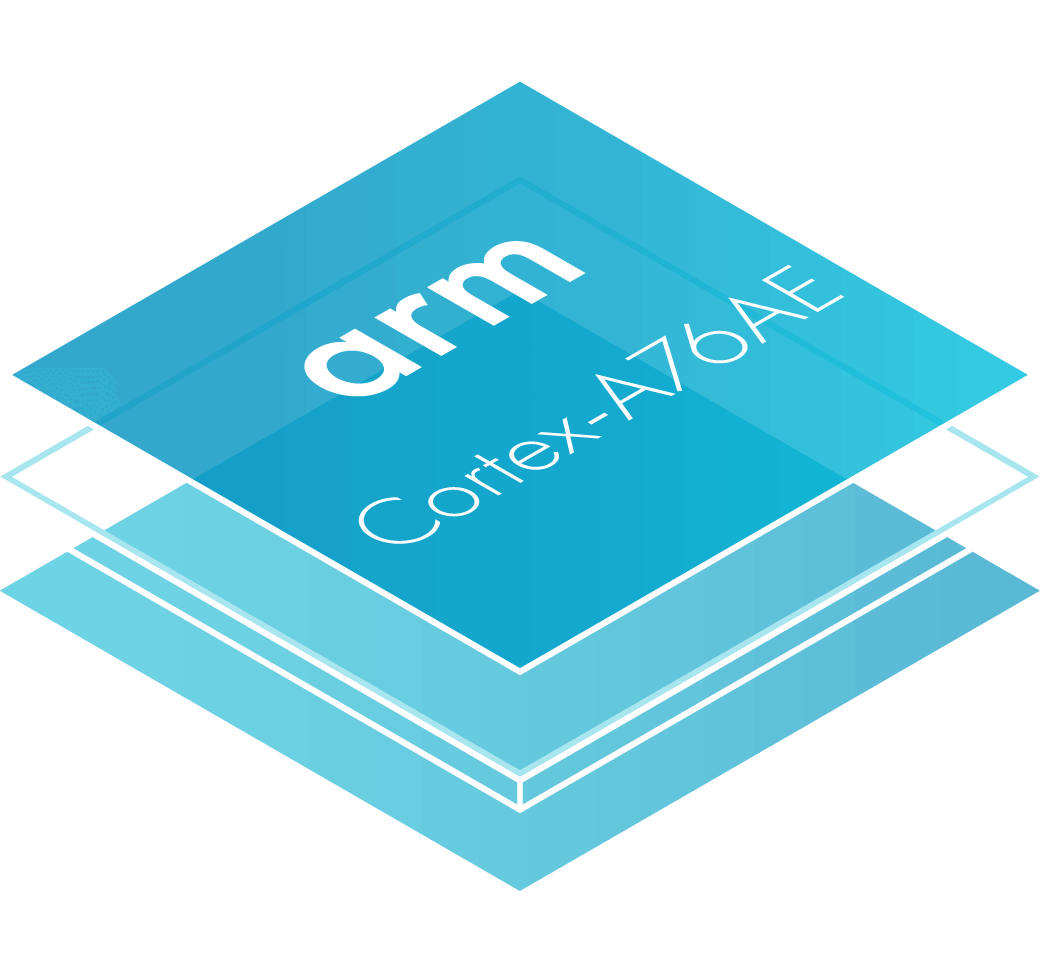 Arm Cortex-A76AE chip