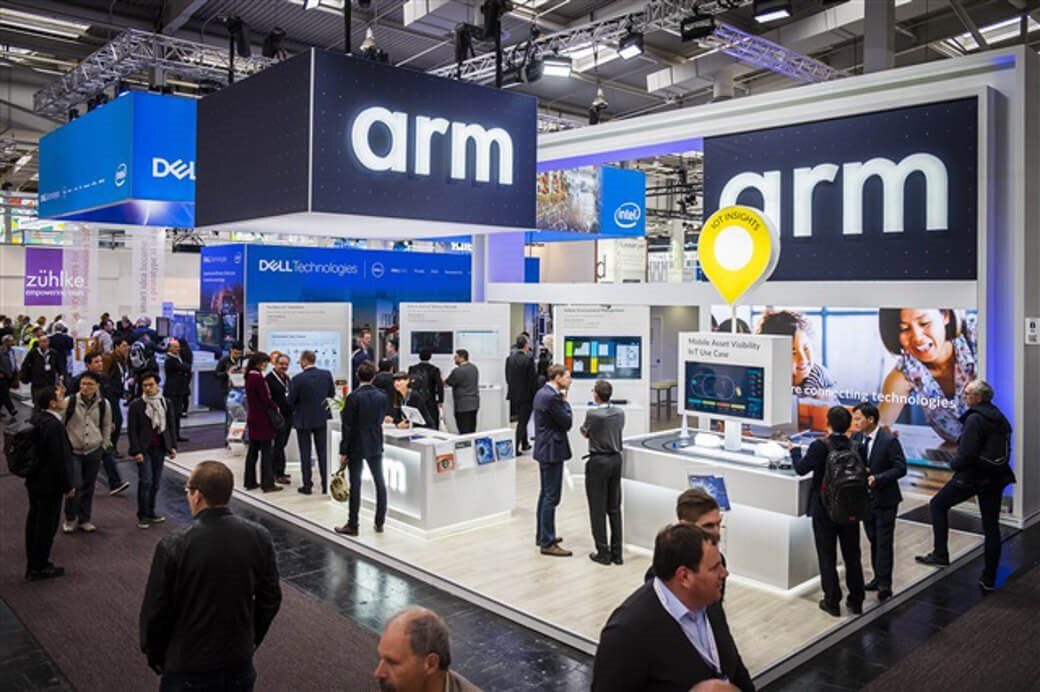 Arm Hannover Messe Booth