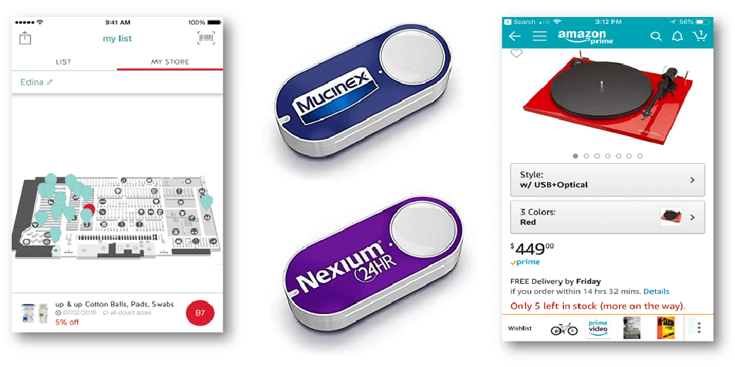 Target indoor map, Amazon Dash button  - Amazon dash button Target map - Retail supply chain visibility across channels – IoT blog – Internet of Things