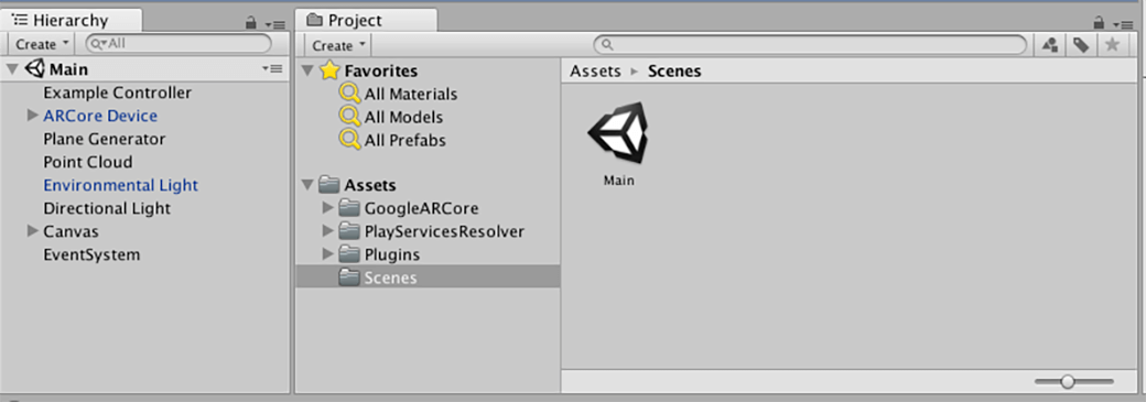 Using Arm NN and Google ARCore for AR Demo in Unity - Graphics and