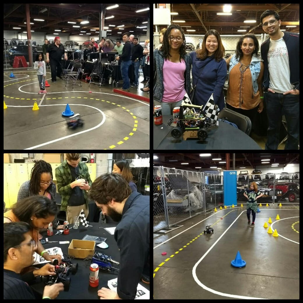 Round-up of Robocar event images