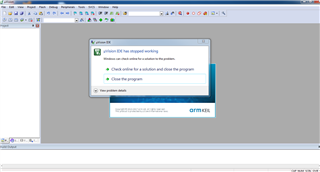 Keil uVision5 not responding - Keil forum - Software Tools