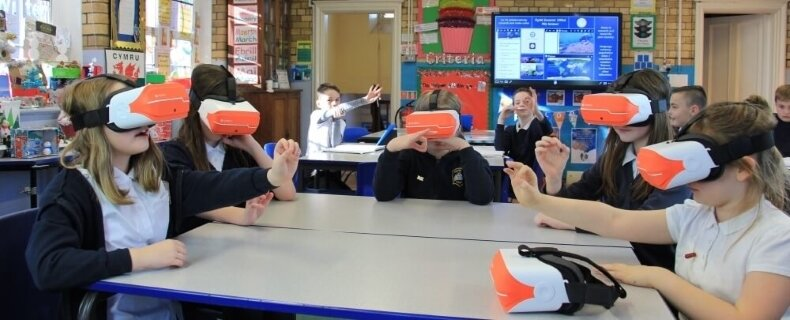 Image result for vr in education